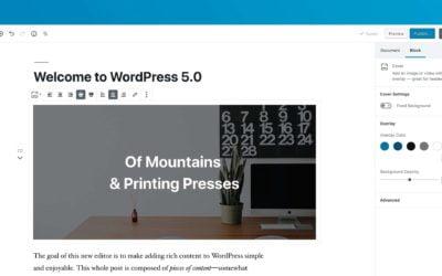 WordPress 5.0: Kdy je správný čas aktualizovat?
