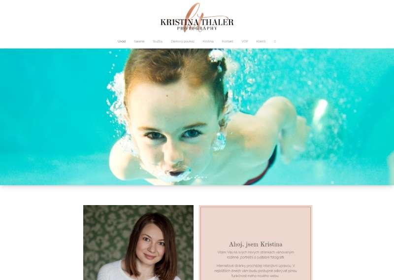 Kristina Thaler - focení Praha