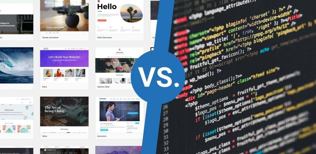 WordPress šablona či na míru